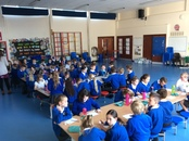 Year 4 putting their taste buds to the test.JPG