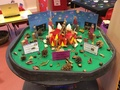 Can you use the small<p>world tray to demonstrate</p><p>bonfire safety?</p>