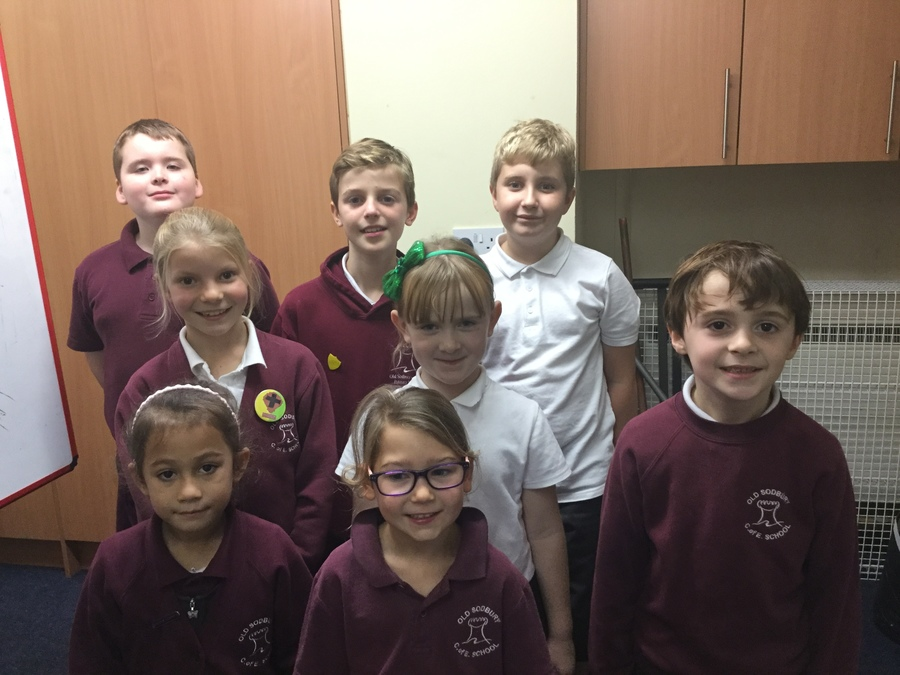 Here are our school council representatives!