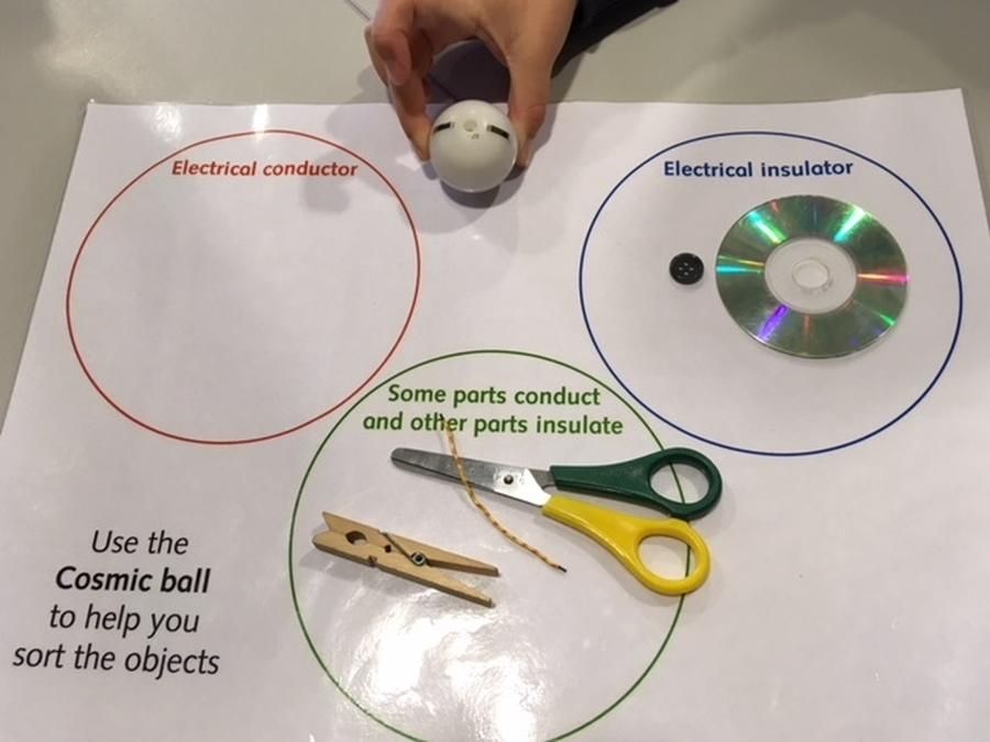 Sorting conductors and insulators