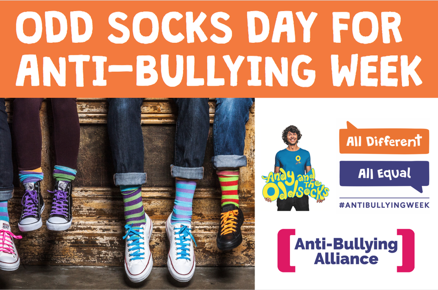 Please wear odd socks on Monday 13th November!