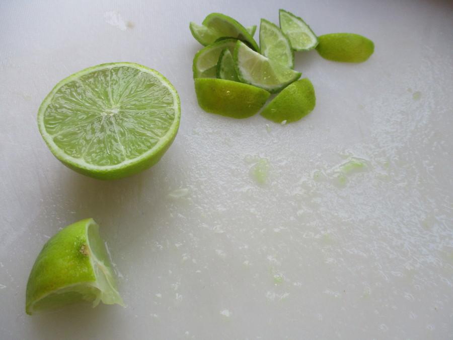 Sweet, Zesty limes.