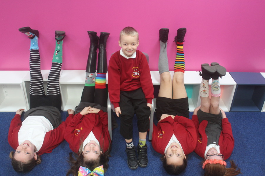 Odd Socks for Anti-Bullying Week