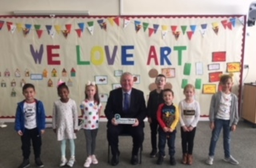 School Council with MP The Rt Hon Sir Mike Penning