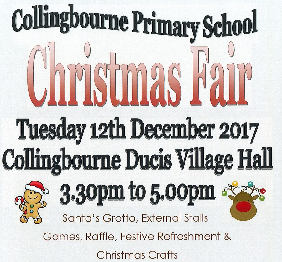 Spaces available for Stallholders. For further information & booking forms contact paulinethomas@collingbourne.wilts.sch.uk