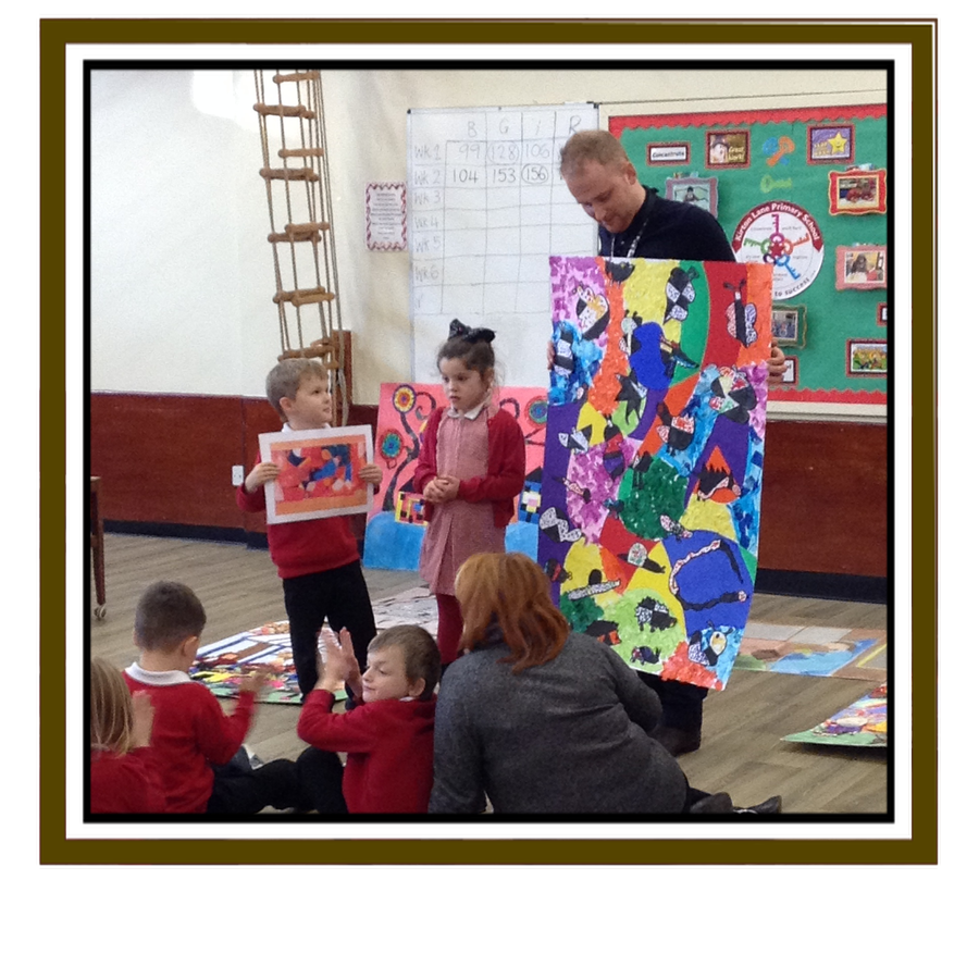 Year 1 Art Canvas