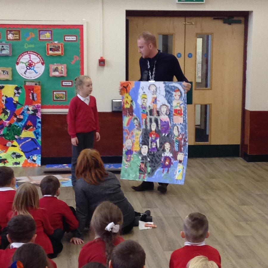 Year 3 Art Canvas