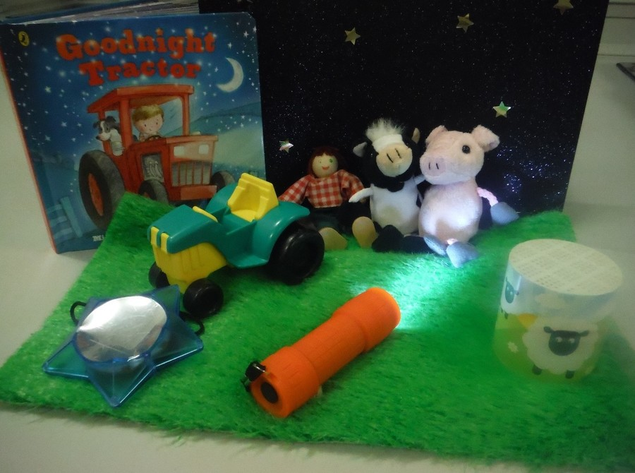 A snuggly 'Snooze Book' story box to enjoy at bedtime