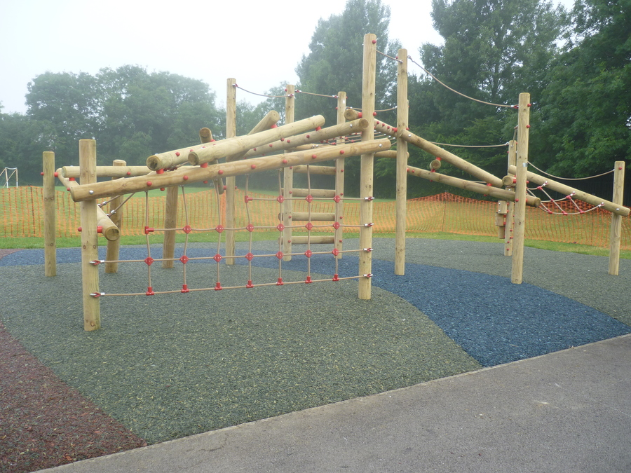 Our new playground equipment installed at the Junior school with further pieces of equipment added in the summer holidays this year.