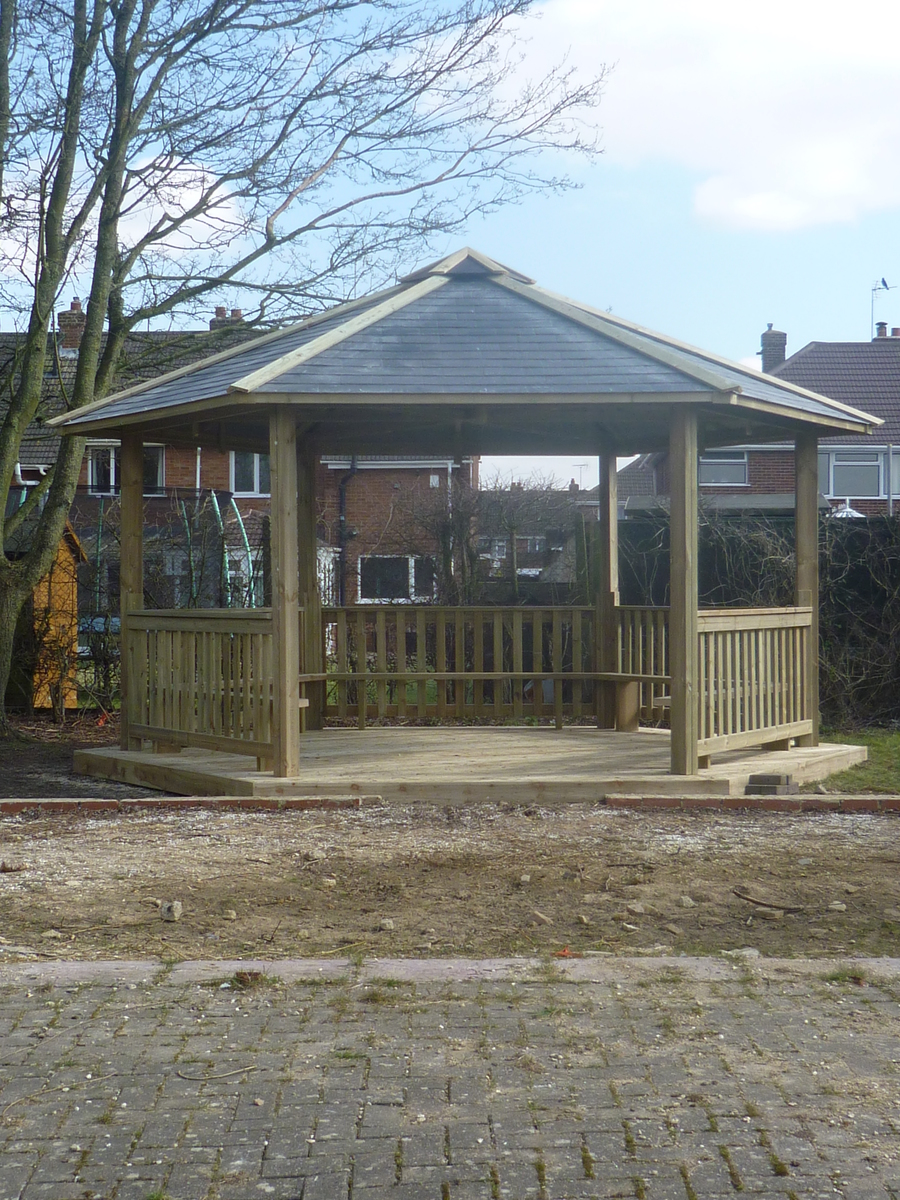 Year 5 and 6 playground developments.