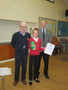 Leanne won the second prize in writing for our school