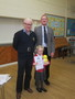 Amelia won second prize in art for our school.