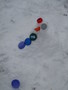 <p>Rose made a </p><p>snowman</p>