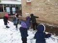 <p>Snow ball </p><p>throwing</p>
