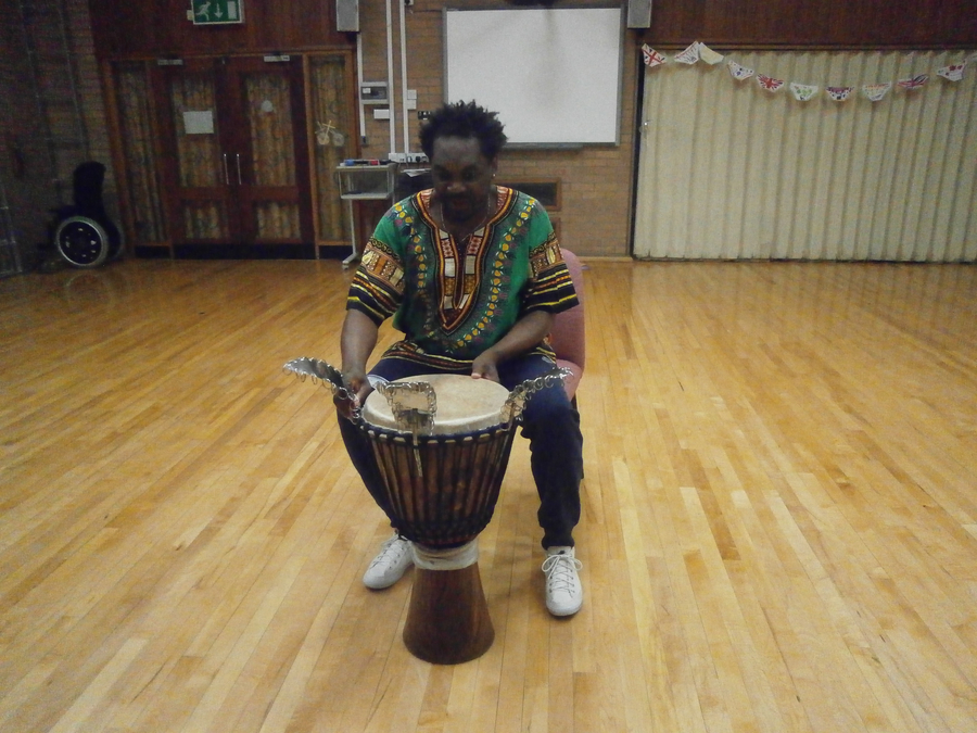 African drumming demo