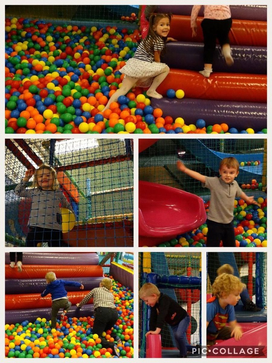Our Early Years had a great time at Kidzilla as a reward for their excellent attendance - Autumn 1
