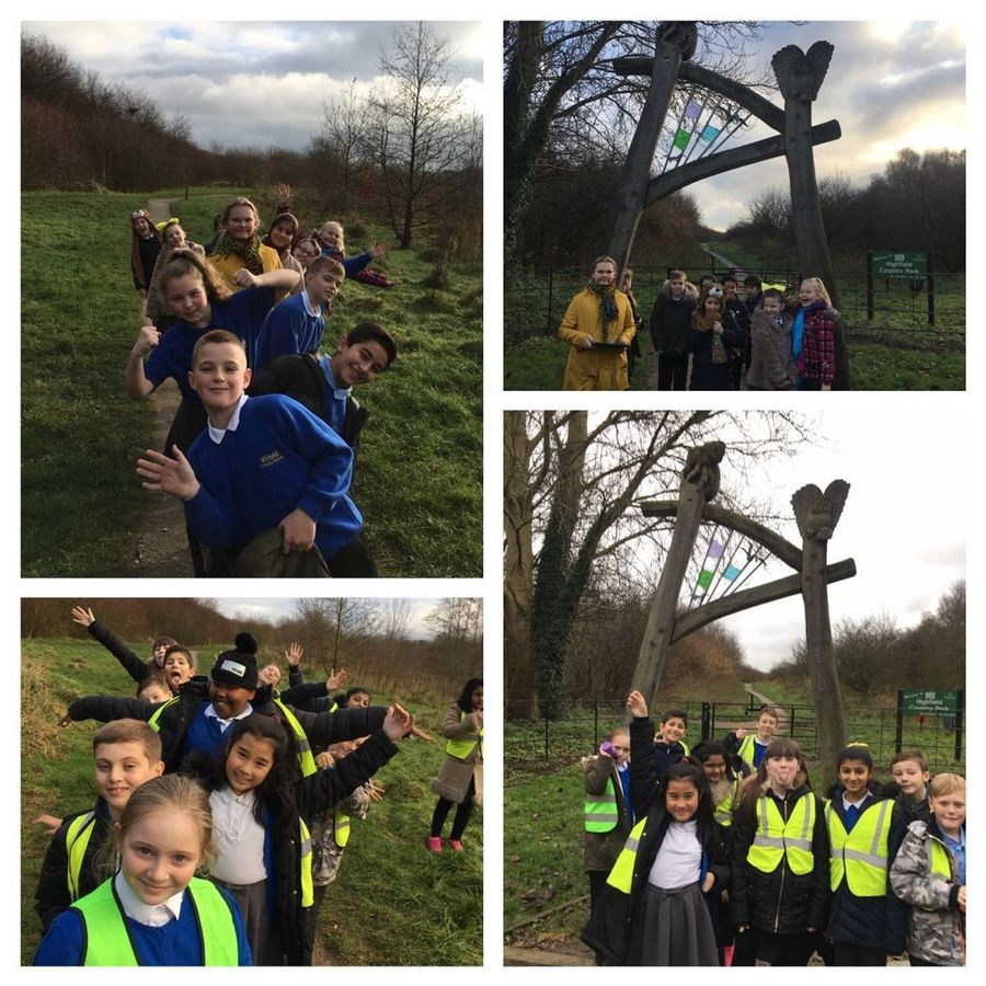 04/12/2017: Year 6 had a great time at Highfield Country Park; they are looking forward to lots of great writing in English!