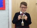 Hayden - Having a super attitude, always making good choices and sitting sensibly and setting the example to the rest of the class. He is also making positive and valuable contributions to lessons. Well done Hayden, keep it up next term!