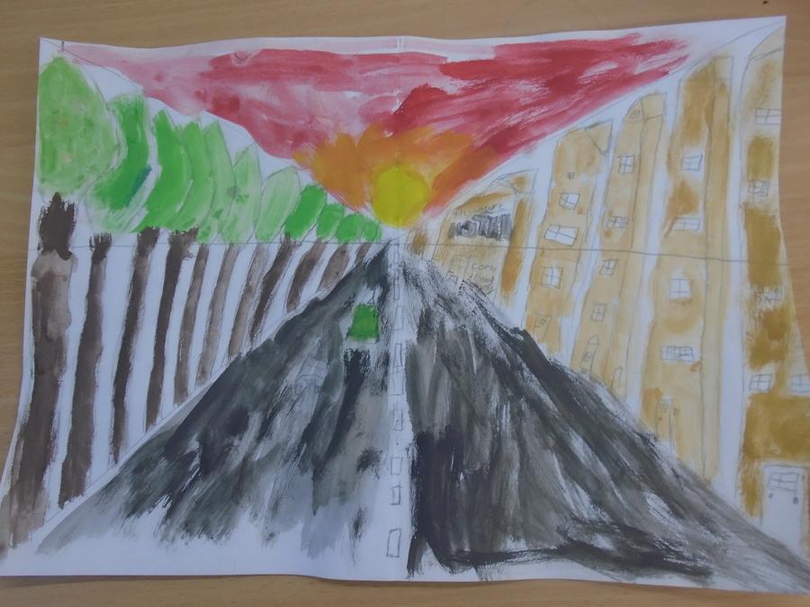 Class 3 perspective art