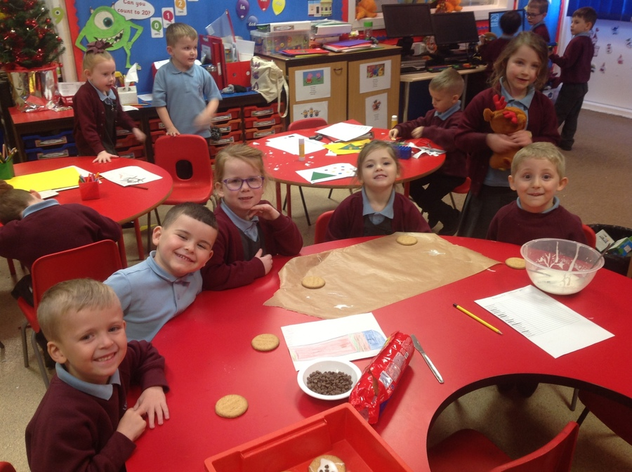 Busy Making Cakes When You Arrived
