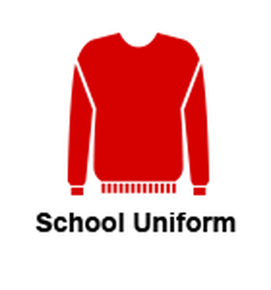 Click on the Red Jumper to take you to our school uniform shop.