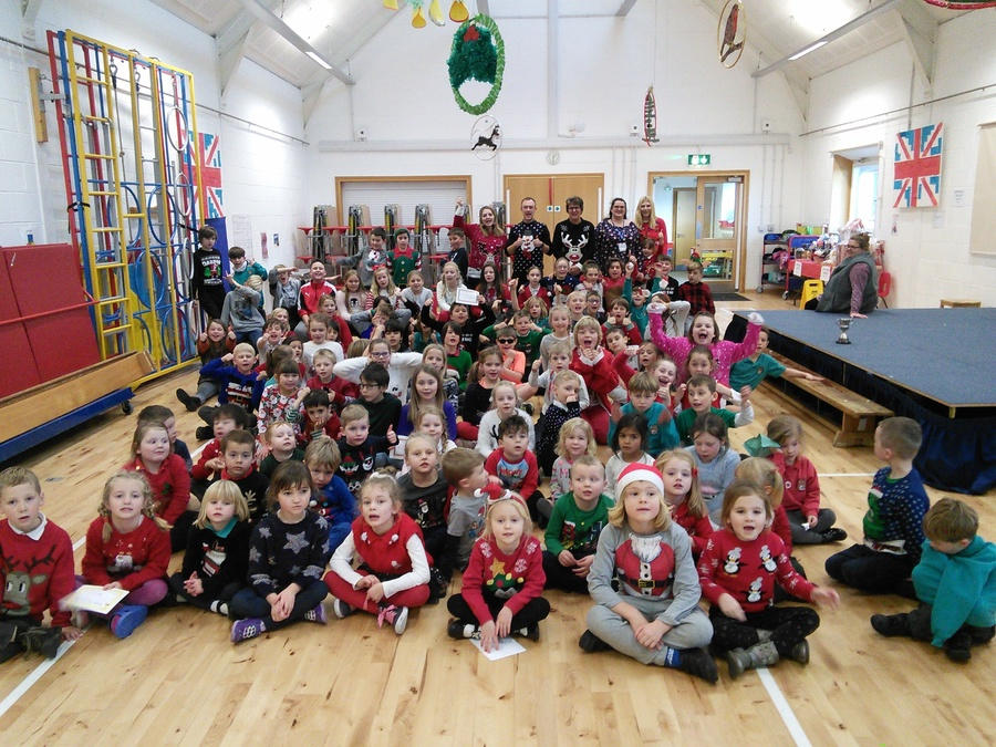 Christmas jumper day 2017!