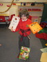 Robinson received his red stripe in Taekwondo