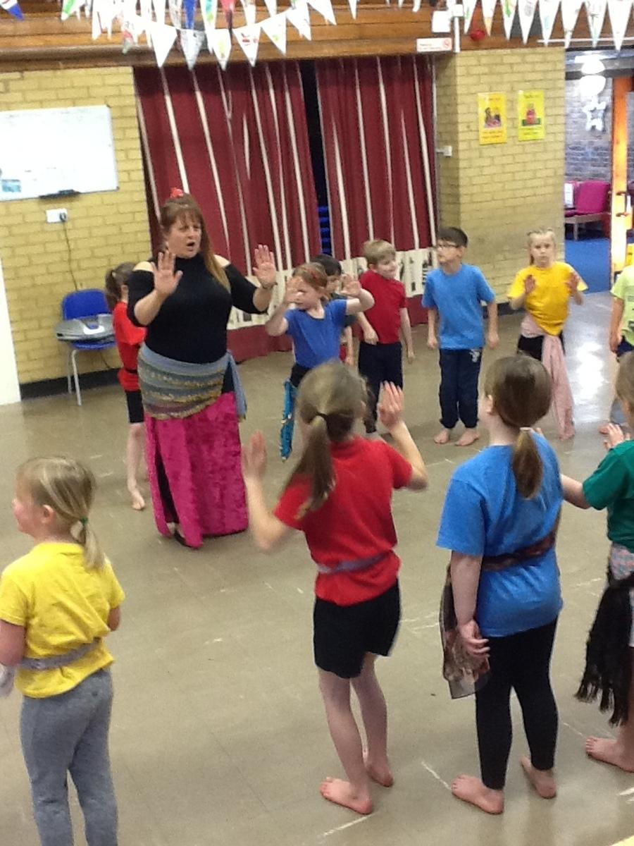 Dance like an Egyptian!