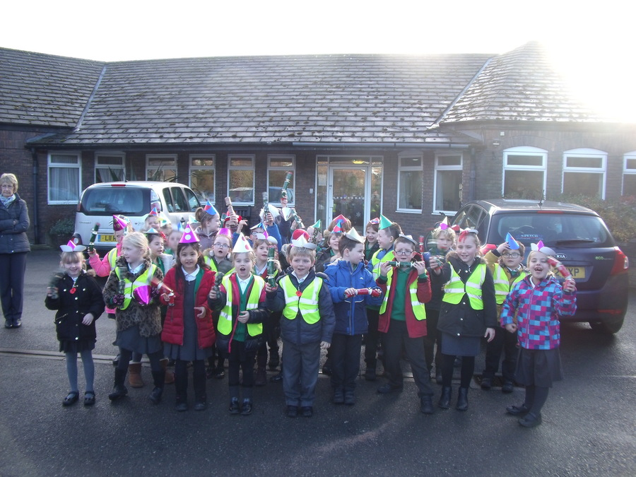 Year 2 had a fabulous time singing Christmas songs for the residents at The Limes.
