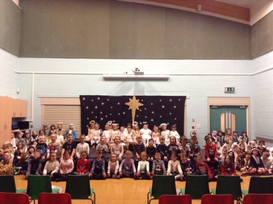 Cast of Y1&2 Nativity