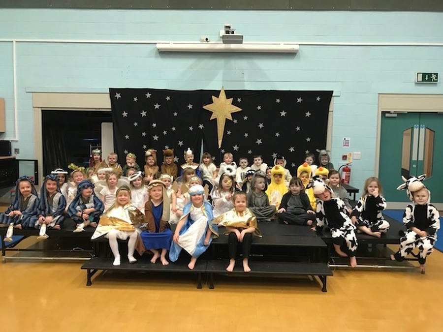 Cast of Reception Nativity