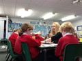 Guided reading with group 4
