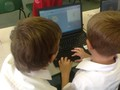 Computer programming using Scratch.