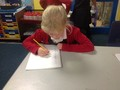 Focusing well on our<br>writing this week!
