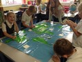 Finding different places on the world map!