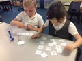 Matching the<br>numbers together!