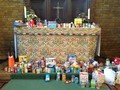 Fun and thankfulness<br>at our harvest festival!