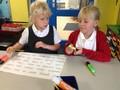 Helping improve Mrs Sims' writing!