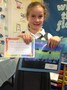 <p>Our Star of the Week with<br>her wonderful artwork!</p>