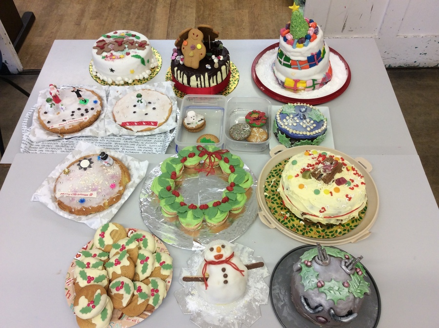 Winter Stalls Cake Decorating Competition