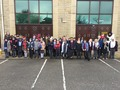 Years 3 and 4 visiting a local<p>mosque during interfaith week.</p>