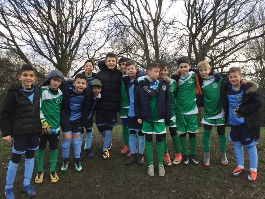 Year 5 and 6 Football Tournament January 2018