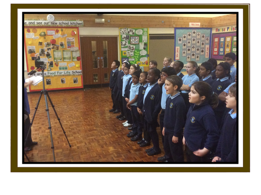 Recording the Leicester Radio Advent song