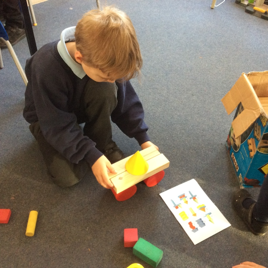 We tested different combinations of 3D shapes to find out which models were stable.