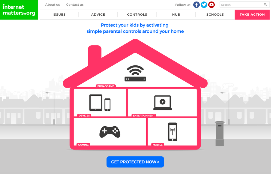 Setting parental Controls