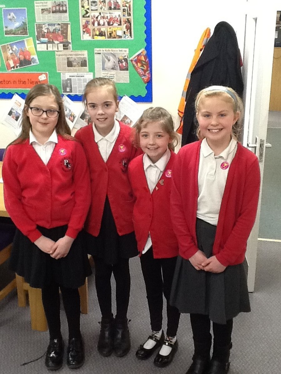 Abigail, Sofia, Holly and Anna have made huge progress in learning the flute and piano.  Well done girls!