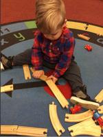 We like to build tracks..