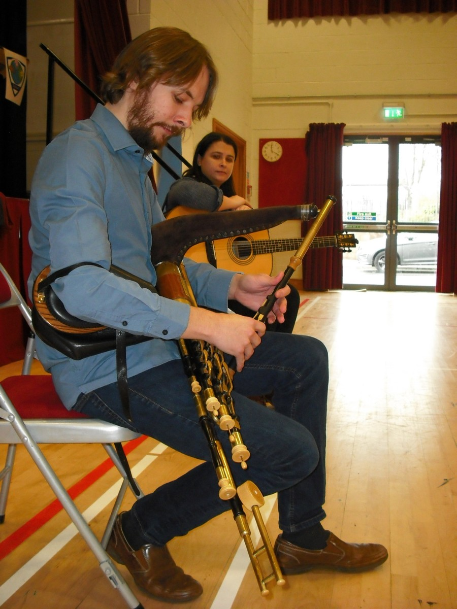 'Live Music Now' entertain & Educate at St. Gerard's
