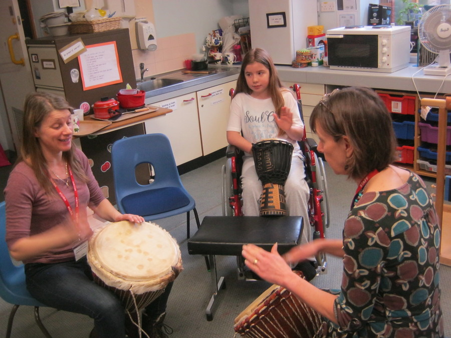 We were very lucky to have Angie Prout deliver a drumming workshop at Bramble schoolroom. All pupils and staff had a fantastic time. We shall look forward to seeing Angie again.