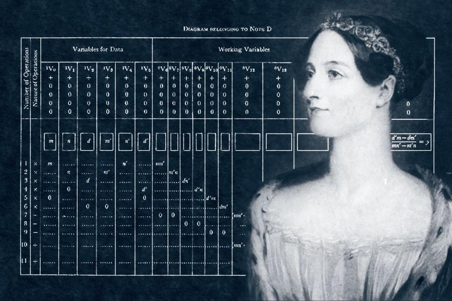 Ada with her algorithms